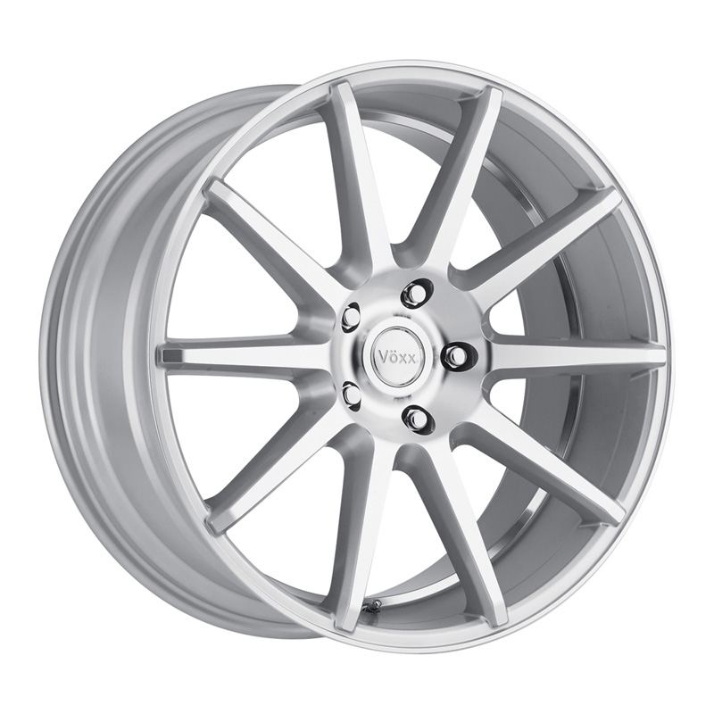 Voxx Danza Silver Machined Face And Undercut Wheel 21x10 5x120 40mm - DT-78589
