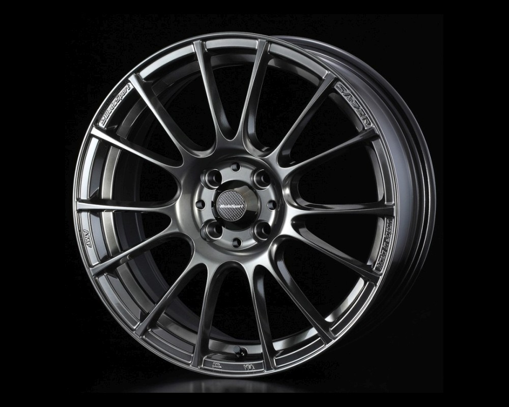 Weds Hyper Black Clear SA-72R Wheel 15x5 4x100 +45mm - SA72R155410045-HBC