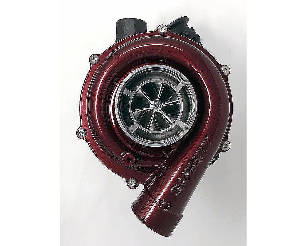 Wold Fab Quantum-Max 64MM VGT Remanufactured Turbo Candy Teal Ford Powerstroke F-250   F-350   F-450 6.0L 2003-2007 - WF-64F003CC-CT