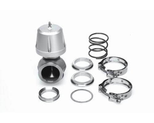 Synapse Engineering Silver Synchronic Wastegate 50mm w/ Flanges - WG002B.1