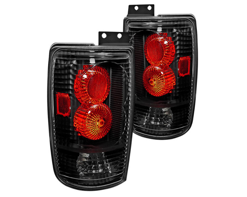 Winjet Clear Black Altezza Tail Lights Ford Expedition 97-02 - WJ20-0018-04