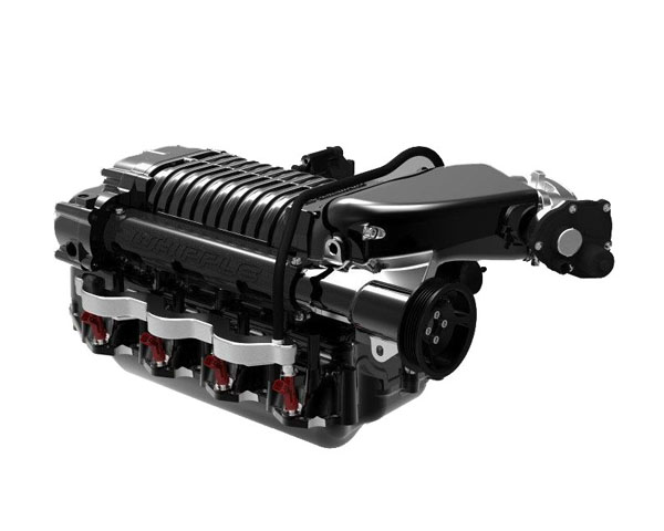 Whipple 2.9L Intercooled Supercharger Tuner Kit Ford Full Size Truck & SUV 6.2L V8 10+ - WK-2320TB