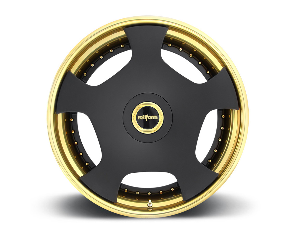 Rotiform WLD 2-Piece Forged Welded Flat Wheels - WLD-2PCFORGED-FLAT