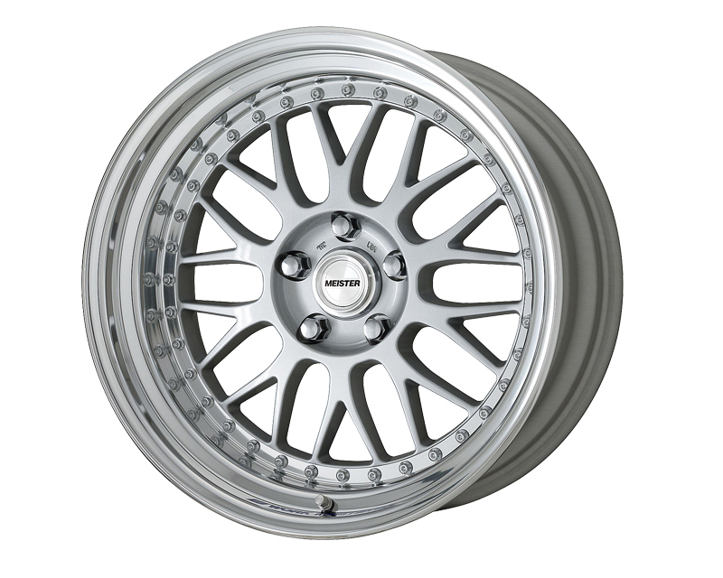Work Meister M1 19x8 3Piece Step Lip Wheel - WMEI-M13P-198