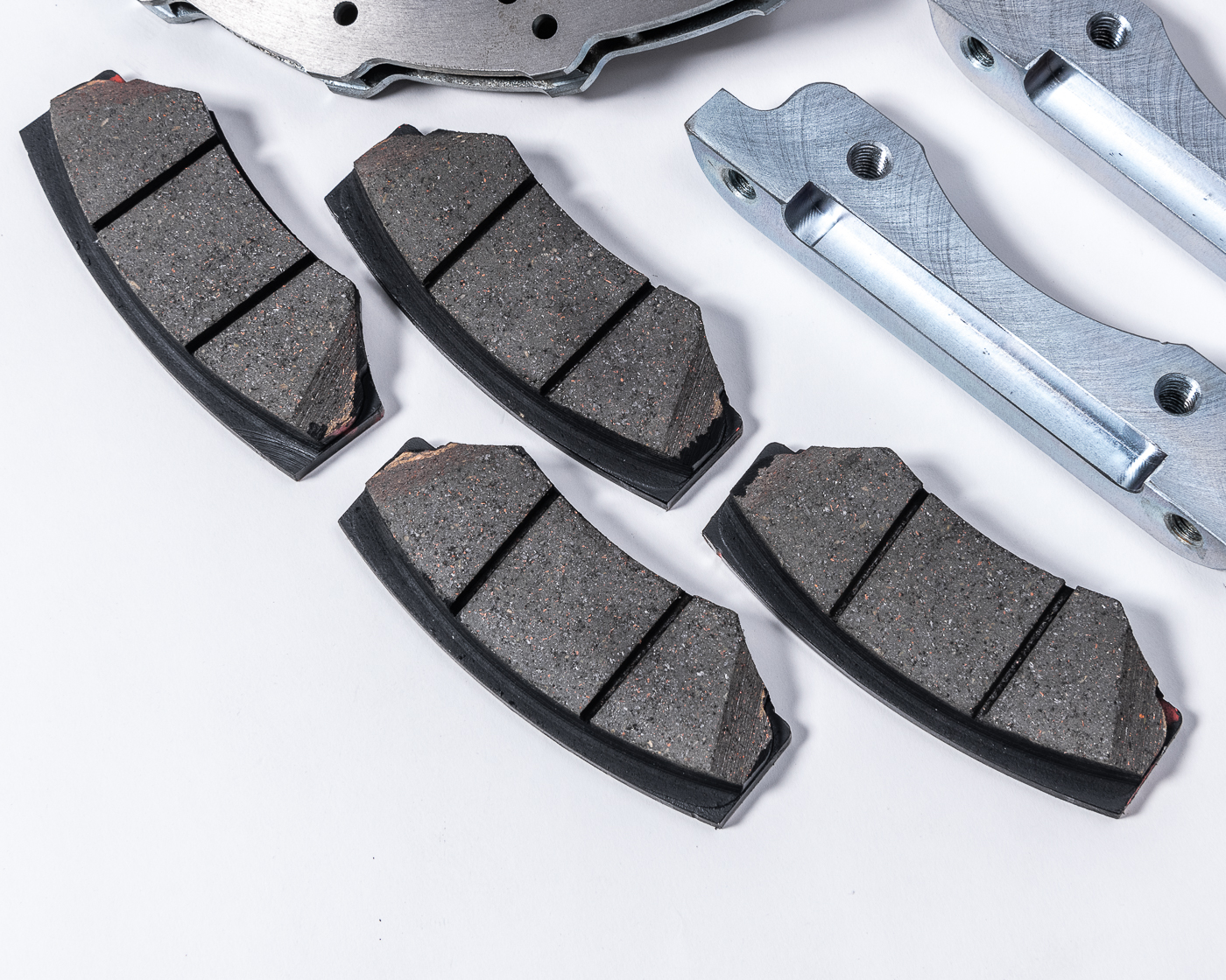 WP Pro Carbon Metallic Street Brake Pads for Can-Am X3 Big Brake Kit - WP-BRP-X3-450