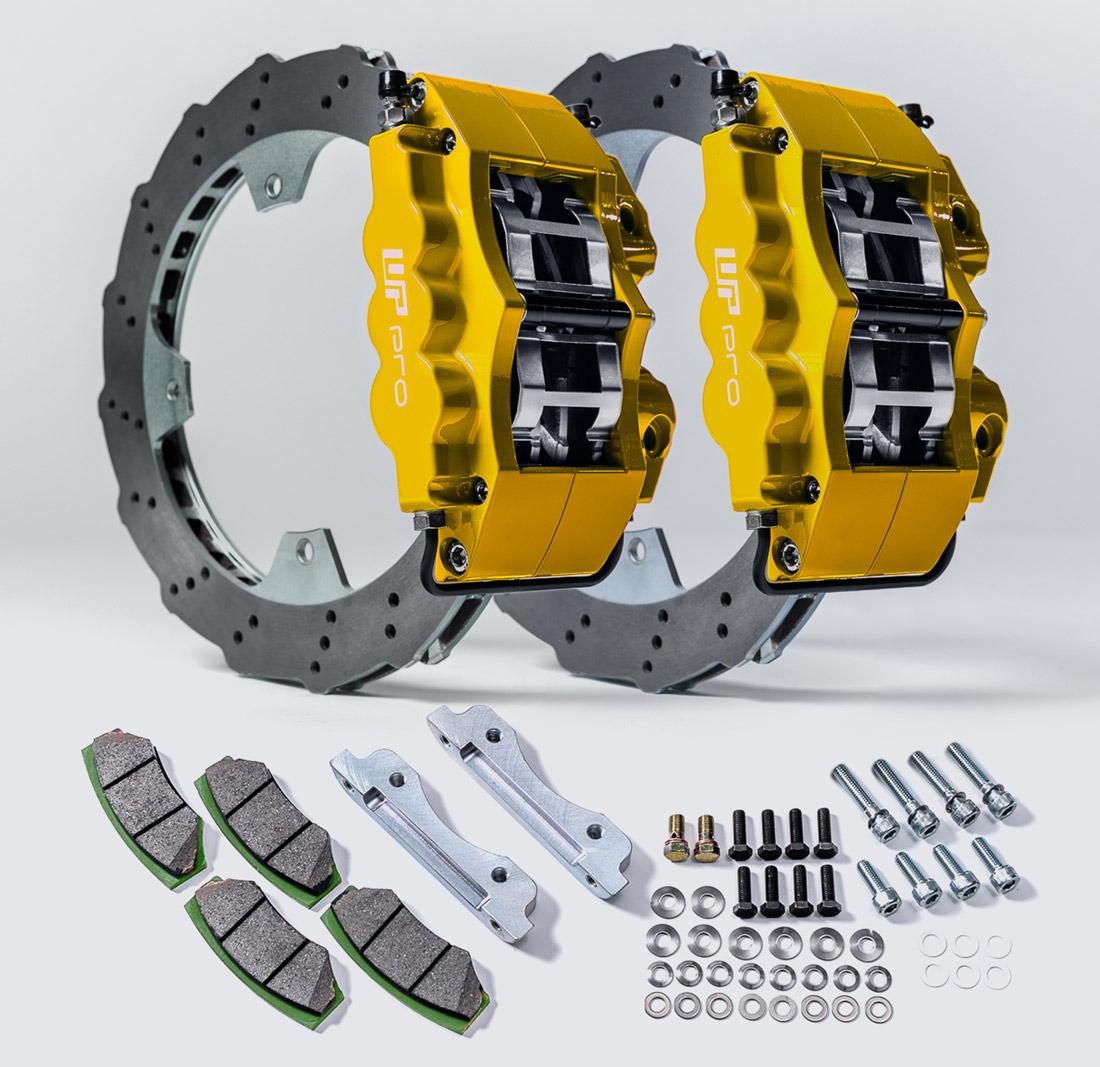 WP Pro Front Big Brake Kit Can-Am Maverick X3 Yellow - WP-BRP-X3-405