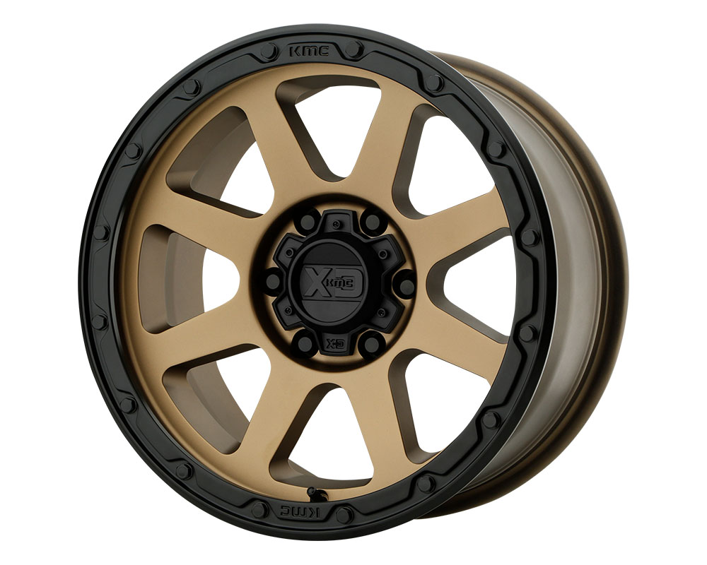 XD Series XD13488585600 XD134 Addict 2 Wheel 18x8.5 5x5x139.7 +0mm Matte Bronze Matte Black Lip