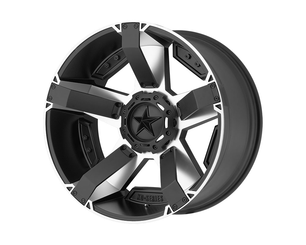 XD Series XD811 Rockstar II Wheel 20x9 5x5x150 +30mm Matte Black Machined - XD81129058530