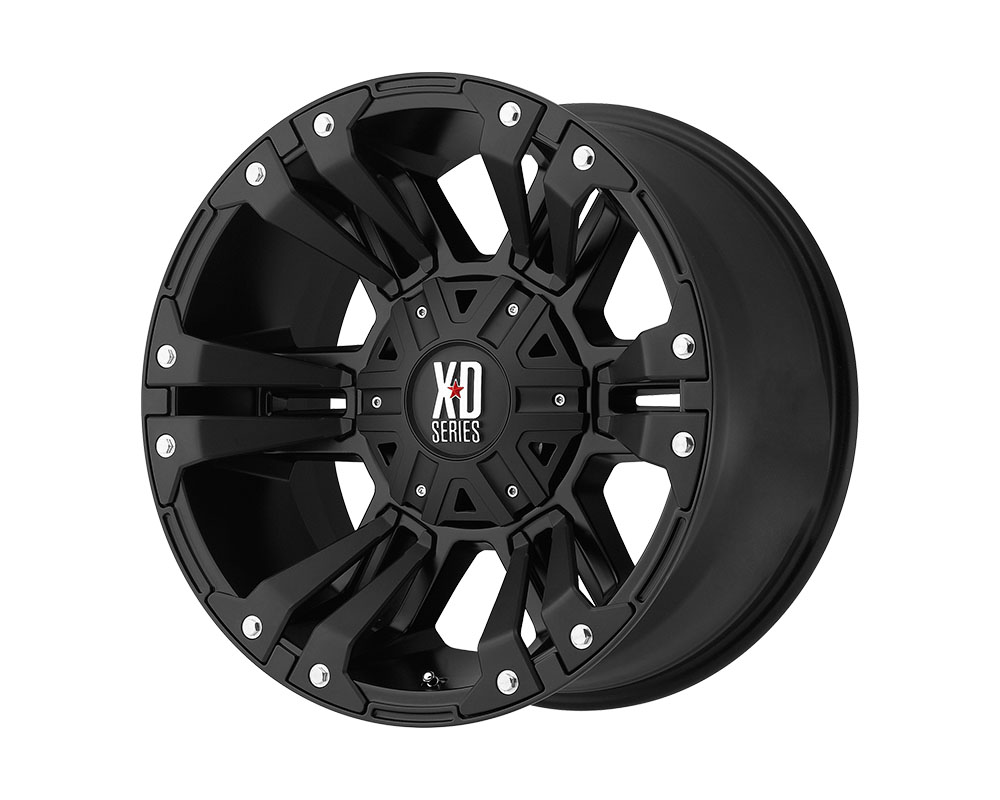 XD Series XD822 Monster II Wheel 17x9 6x6x135/6x139.7 +30mm Matte Black - XD82279067730