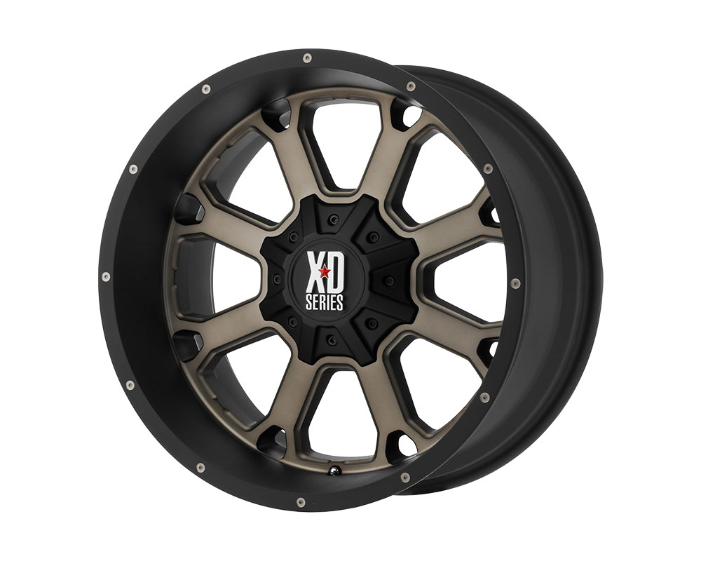 XD Series XD825 Buck 25 Wheel 20x9 6x6x135/6x139.7 +30mm Matte Black Dark Tint - XD82529067730