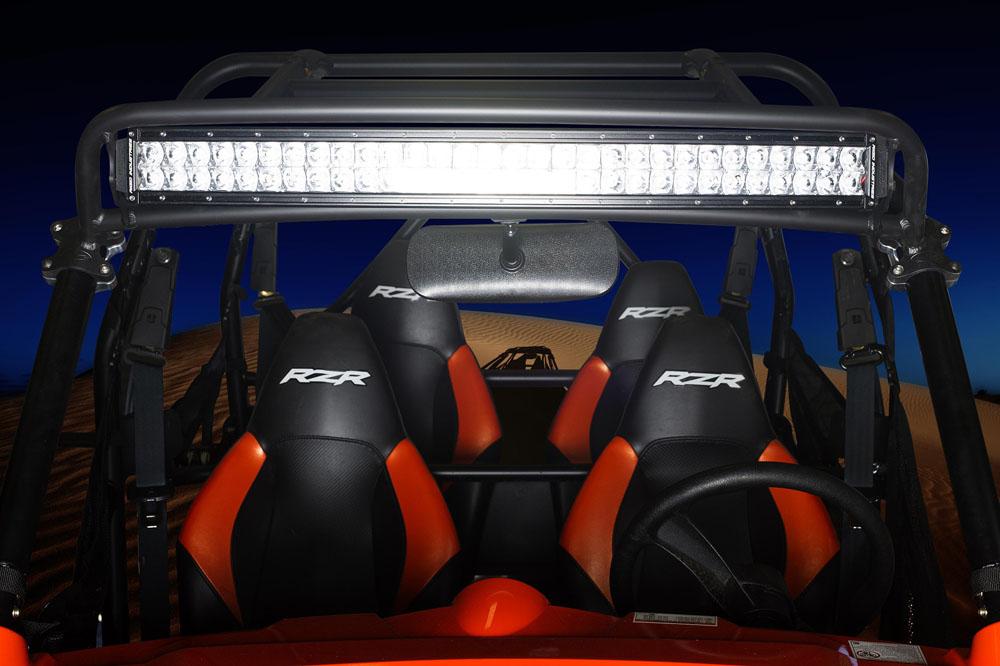 "Precision Billet 30"" Top Mount LED Light Bar - Lock & Lite Polaris RZR XP"