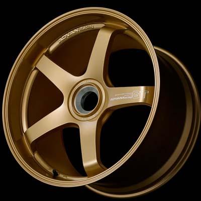 Advan GT Premium Wheel 18x12 Centerlock 46mm Racing Gold Metallic Porsche 997 GT3 RS | 997 GT2 RS Rear - YAQ8O47IRGP