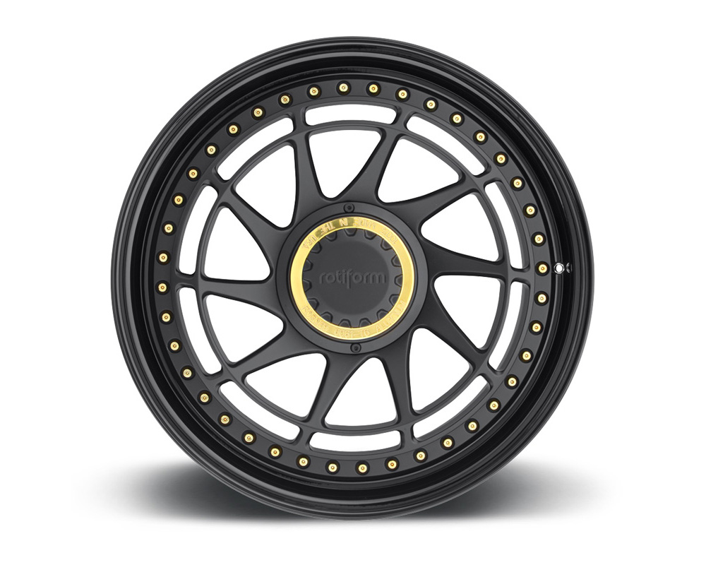 Rotiform YVR 2-Piece Forged Welded Flat Wheels - YVR-2PCFORGED-FLAT