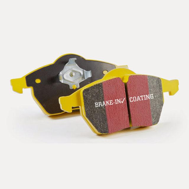 FAST STREET, TRACK, RACE EBC YELLOWSTUFF BRAKE PADS REAR DP42132R