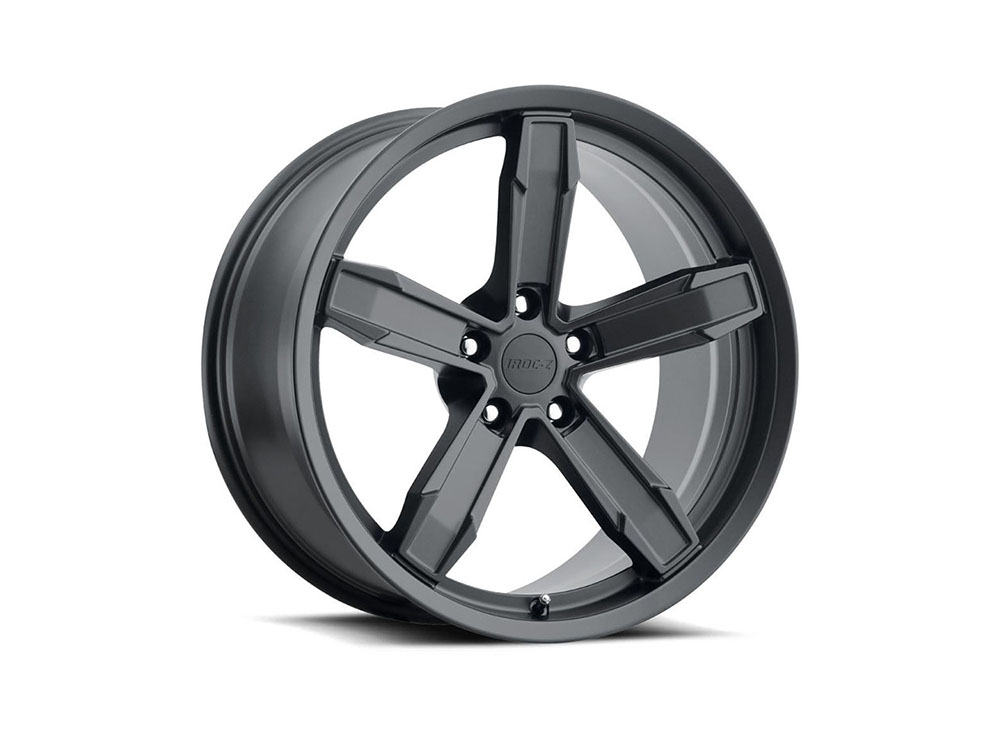 Factory Reproduction Iroc Wheels 20X11 5X120 +43 Satin Black w/ Cap FR Series Z10 - Z10011433403