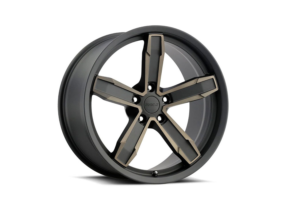Factory Reproduction Iroc Wheels 20X11 5X120 +43 Satin/MF Bronze Clearcoat w/ Cap FR Series Z10 - Z10011433423
