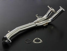 Image of Js Racing 2-1 front pipe No Cat Acura RSX 02-06