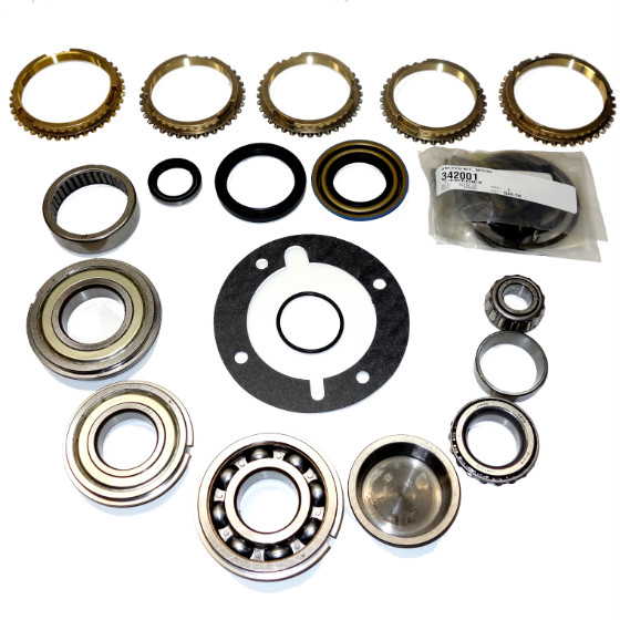 Fs5r30a Transmission Bearing Seal Kit W Synchro Rings 89 Manual Guide