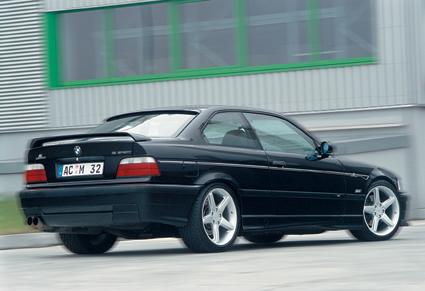 AC Schnitzer Carbon Fiber Rear Lip Spoiler Insert BMW E36 M3 92-99