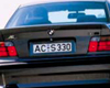 AC Schnitzer 3pc Rear Spoiler BMW 3 Series E36 Sedan 90-00