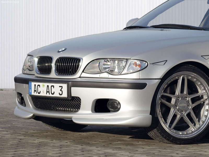 AC Schnitzer Front Add-On Flippers BMW 3-Series E46 with M-Technik II 99-05