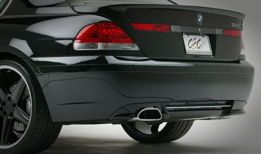 AC Schnitzer Add-on Rear Spoiler for ACS Muffler BMW 7 Series E65 02-05 - AC-511265110