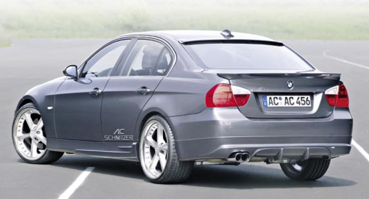 AC Schnitzer Sports Rear Muffler BMW E90 3-Series Sedan | Touring 06-11
