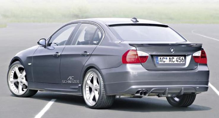 AC Schnitzer Sports Rear Muffler BMW E90 3-Series Sedan | Touring 06-11 - AC-181290360