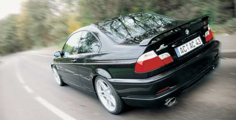 AC Schnitzer Rear Wing BMW Series E M Coupe - Bmw ac schnitzer