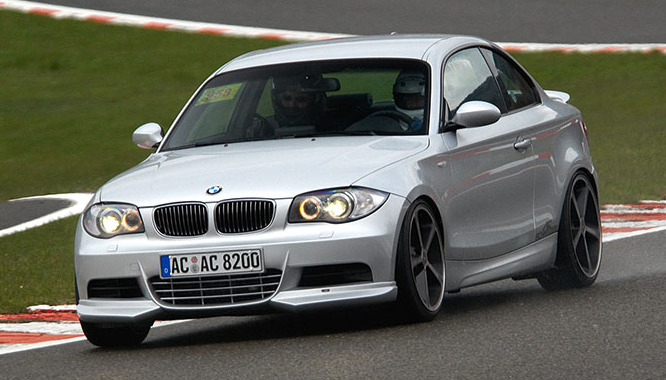 AC Schnitzer Add-on Front Spoiler BMW 1-Series without M-Technik 08-11 - AC-511182110