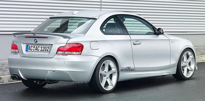 AC Schnitzer Rear Spoiler BMW 1-Series E82 without M-Technik 08-13