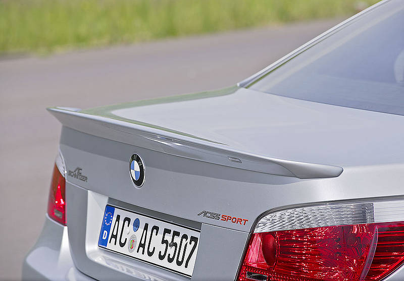 ac schnitzer rear deck lid spoiler bmw e60 m5 06 10. Black Bedroom Furniture Sets. Home Design Ideas