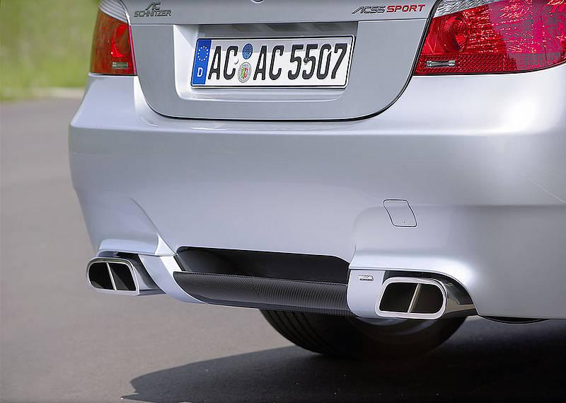 AC Schnitzer Carbon Fiber Rear Diffuser BMW E60 M5 05-10 - AC-511260510