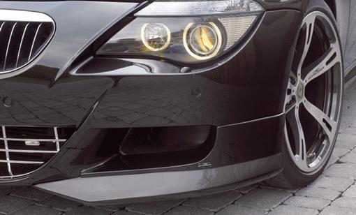 AC Schnitzer Black Carbon Fiber Front Splitters BMW E63 M6 06-10 - AC-511163510