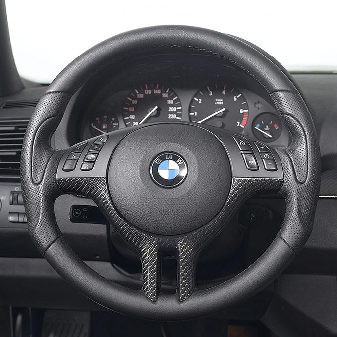AC Schnitzer Black Carbon Steering Wheel Insert BMW 5