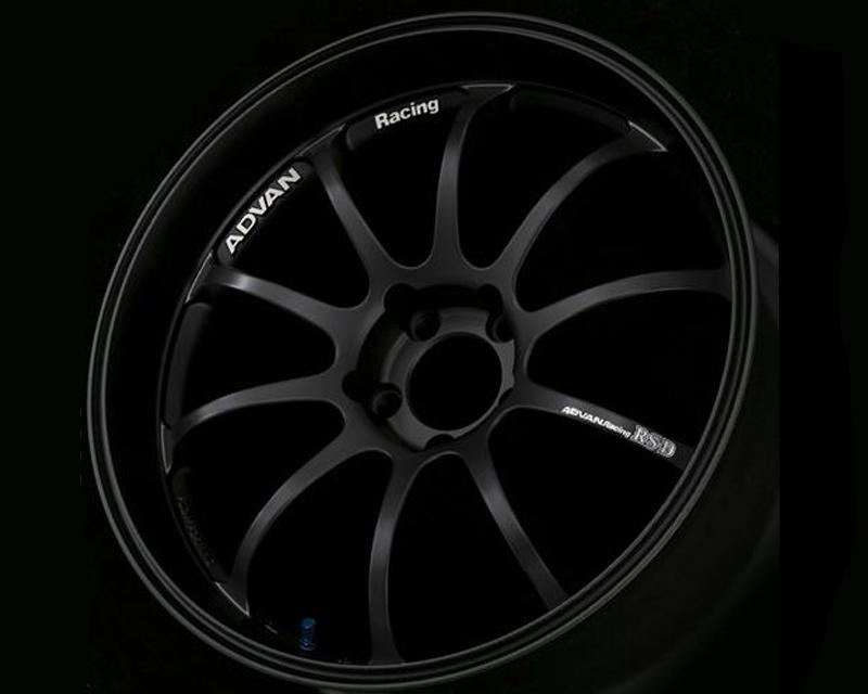 Advan RS-D Wheel 19x9  5x112 +48mm Matte Black - YAK9I48MB
