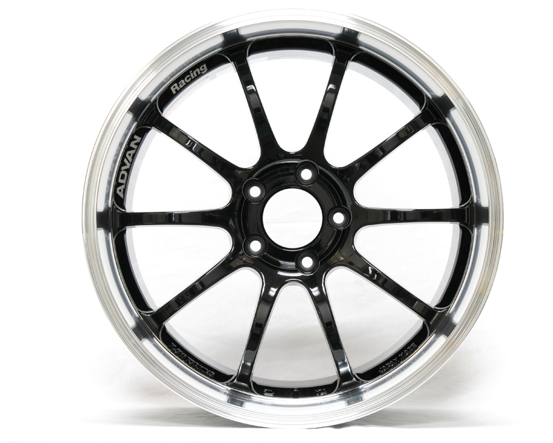 Advan RS-D Wheel 19x9  5x114.3 +25mm Machining Black