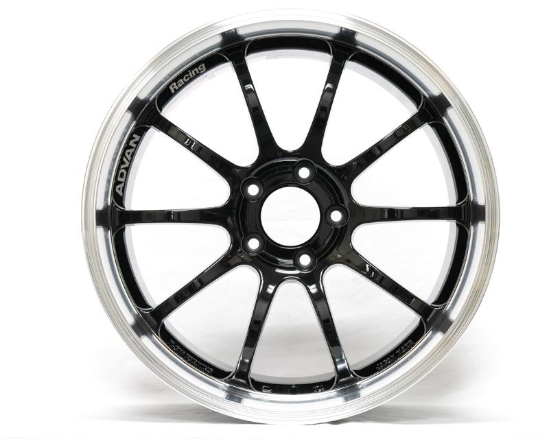 Advan RS-D Wheel 19x10  5x120 +20mm Machining Black - YAK9K20WB