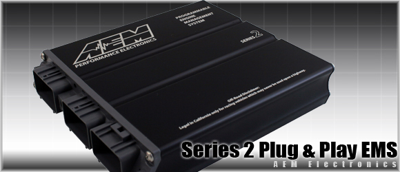 AEM Series 2 Plug-N-Play Engine Management Acura Integra RS LS GS and GSR M/T Only 00-01