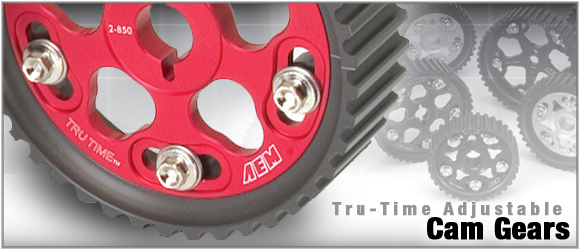 AEM Tru-Time Cam Gears Honda Prelude Si B20 and B21 88-91 - 23-802BK