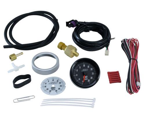 AEM 35 PSI Analog Boost Gauge CLEARANCE - 30-5132