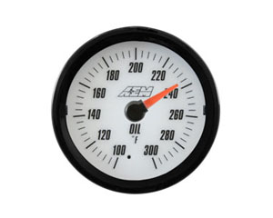 AEM Oil / Water / Transmission Temperature Gauge CLEARANCE - 30-5140