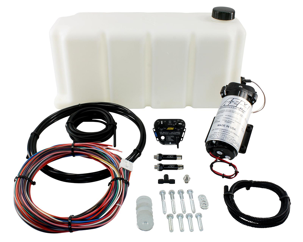 AEM HD Water-Methanol Injection Kit with 5 Gallon Tank - 30-3301