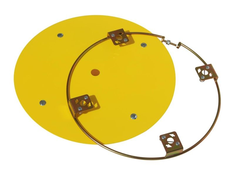 Aero Race Wheels  G2 Right Front Cover Kit Yellow - 54-500039