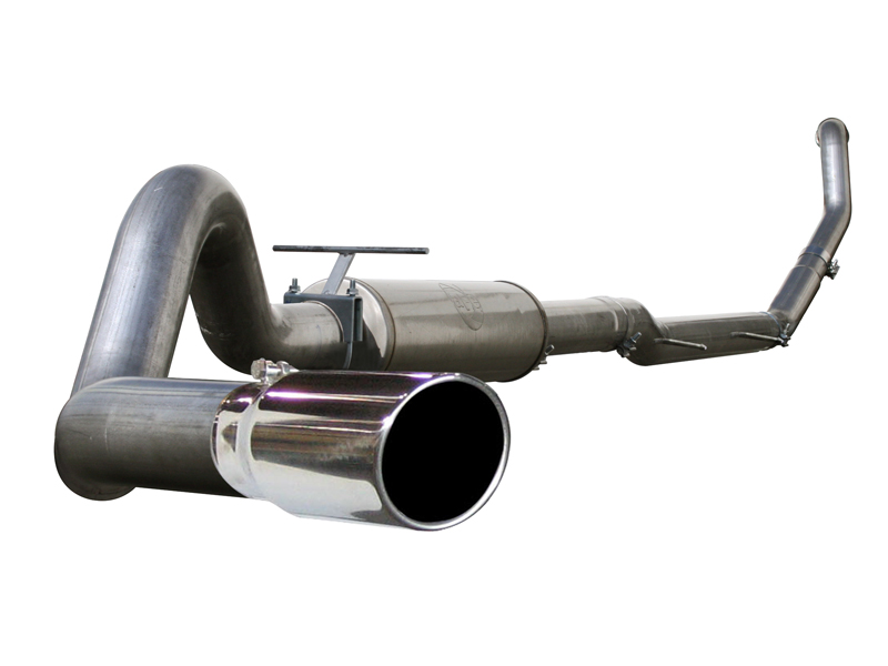 aFe Aluminum Turboback Exhaust Ford F-250 7.3L V8 Power Stroke 99-03 - 49-13002