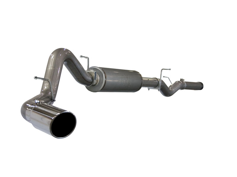 aFe Aluminum Catback Exhaust Ford F-350 6.0L V8 Power Stroke 03-07 - 49-13003