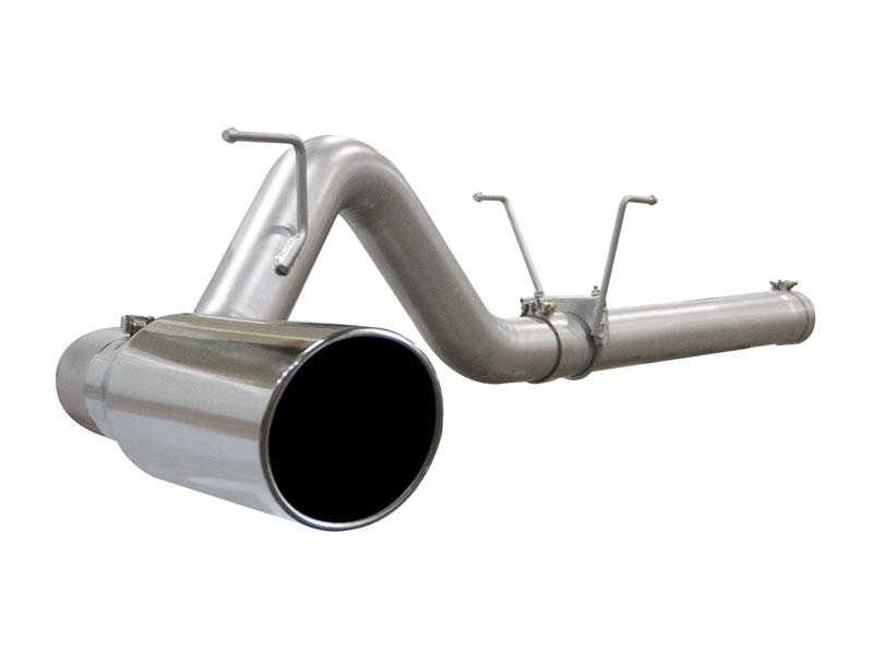 aFe Stainless Steel DPF-back Exhaust Ford F-350 6.4L V8 Power Stroke 08+ - 49-43006