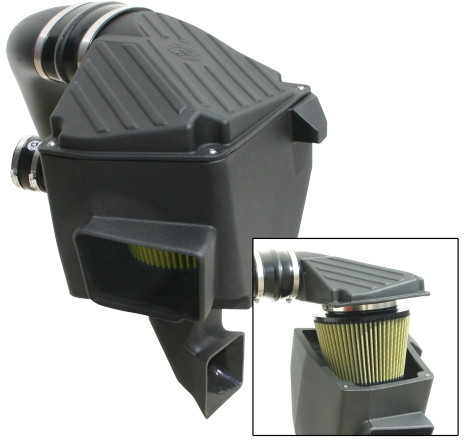 aFe Stage 2 Cold Air Intake Pro-Guard 7 Dodge Ram 5.9L TD 03-07 - 75-80932-0