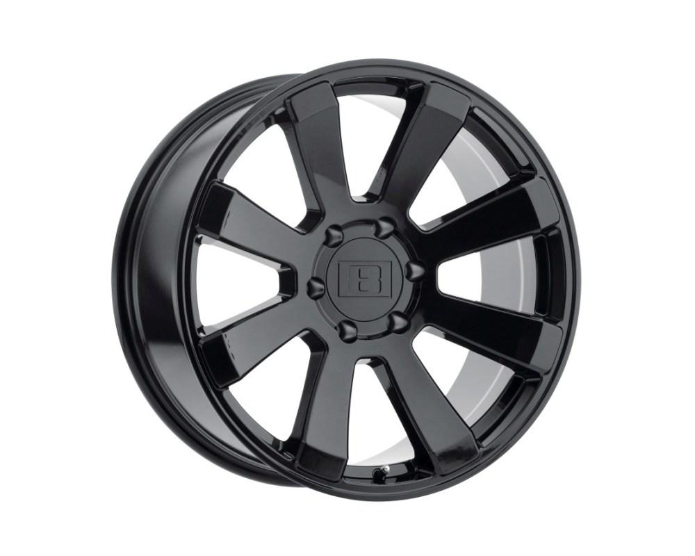 Level 8 Enforcer Wheel 17x8.5 5x135 -24mm Gloss Black - 1785ENF-45135B87