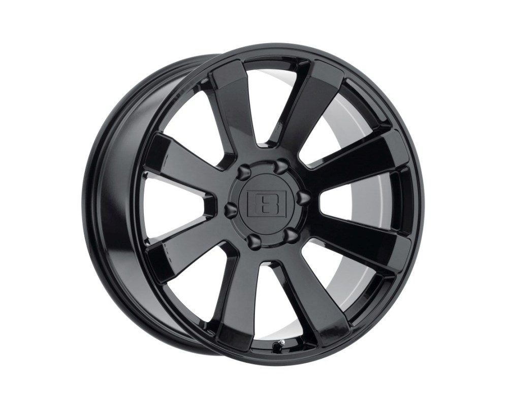Level 8 Enforcer Wheel 17x8.5 6x139.70|6x5.5 12mm Gloss Black - 1785ENF126140B12